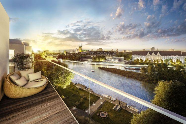 Świeże Miasto Marina. Nowe mieszkania we Wrocławiu [WIZUALIZACJE] • www TQ93
