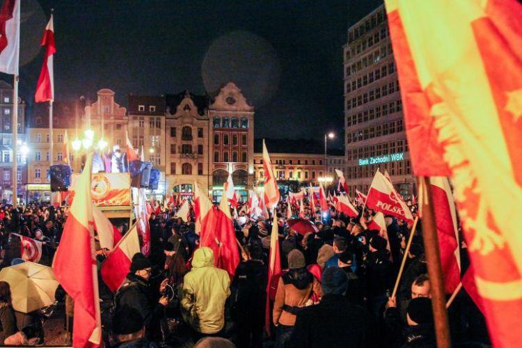 Sąd uchyla decyzję prezydenta Wrocławia. Marsz narodowców jest legalny [WIDEO], Magda Pasiewicz/archiwum