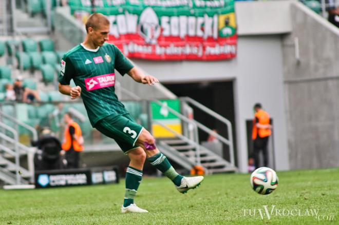 Piotr Celeban jako jedyny piłkarz zaliczył pełne 90 minut w meczu Śląska z Borussią