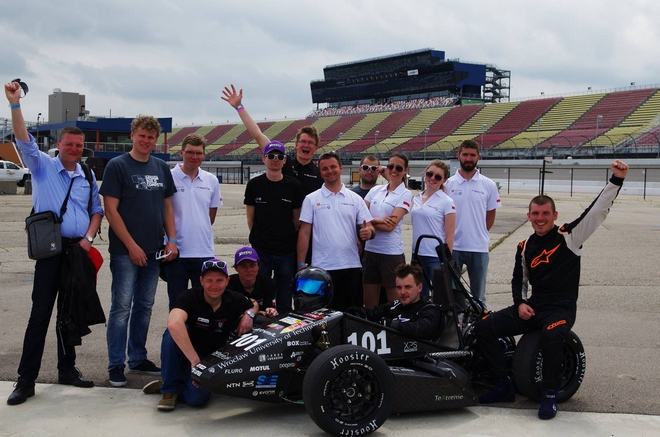 Na słynnym torze Silverstone w Anglii bolid RT-05 powalczy w kolejnej edycji zawodów Formuły Student