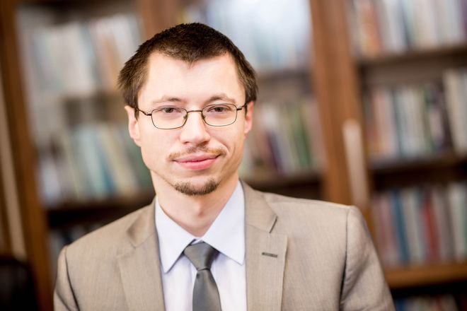 Dr Tomasz Kopyściański z WSB