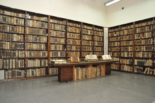 Stary księgozbiór Biblioteki Uniwersyteckiej jest imponujący