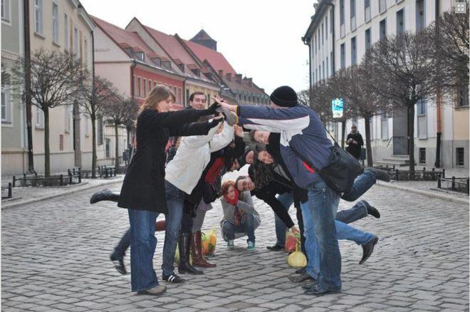 Studenci programu ''Mosty Ekonomiczne'' poznają Wrocław.