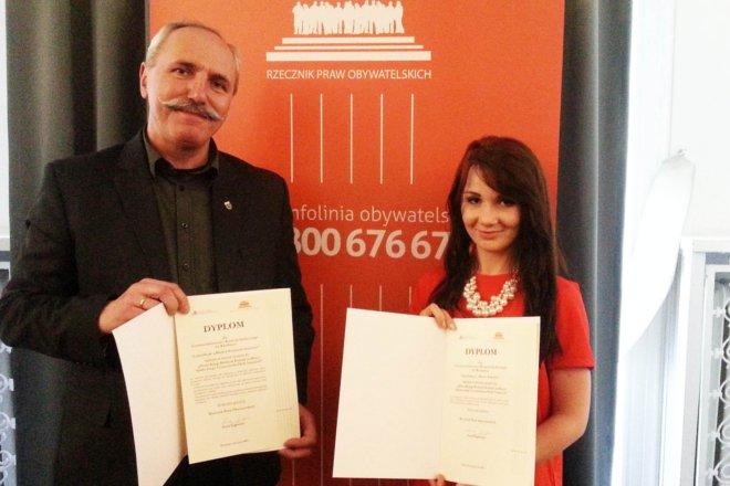Wręczono między innymi okazałe dyplomy