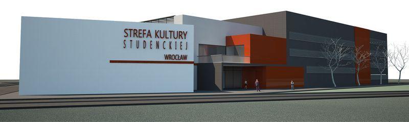 Tak ma wyglądać Strefa Kultury Studenckiej na Politechnice Wrocławskiej