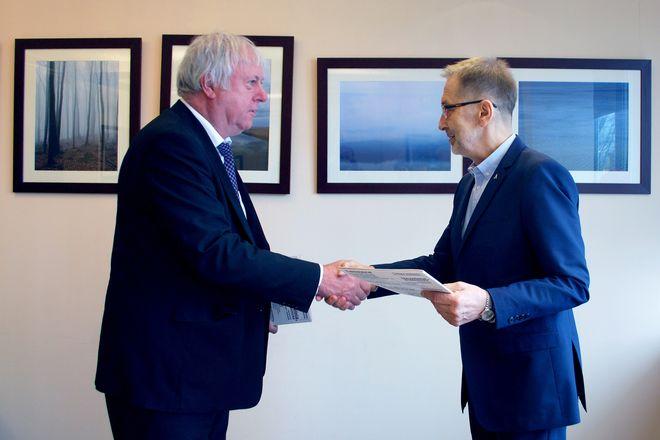 Moment po podpisaniu umowy o współpracy