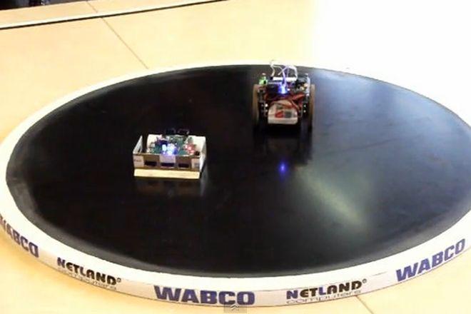 Walki robotów wzorowane są na zawodach sumo
