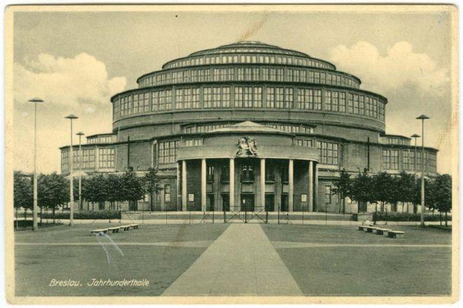 Jahrhunderthalle - Hala Stulecia przed II wojną światową