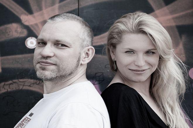 Mariusz Czubaj i Katarzyna Bonda