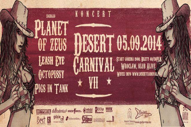 Desert Carnival o krok!