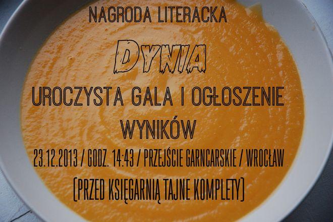 Nagroda Literacka Dynia
