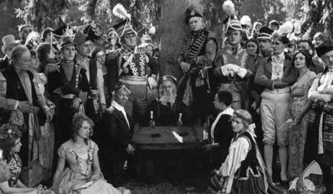 Kadr z filmu Pan Tadeusz Ryszarda Ordyńskiego