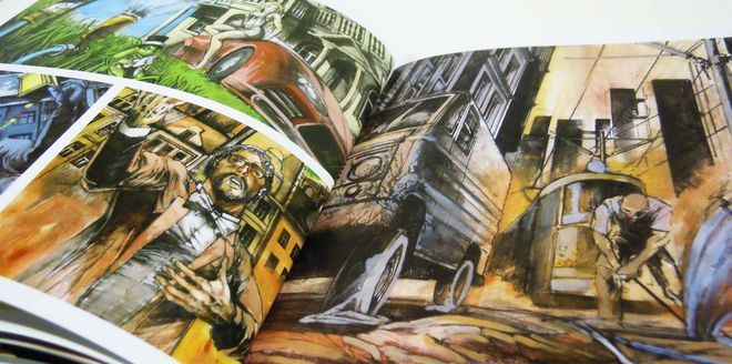 Komiks do kolejny projekt artysty