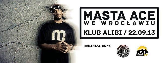 Koncert Masta Ace już 22 września w Alibi