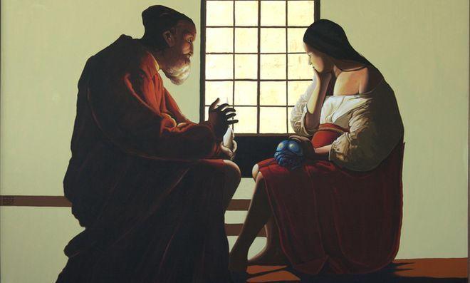 Obraz Krzysztofa Kiwerskiego