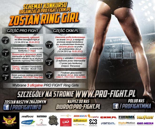 Wygrywając konkurs można się zaprezentować na gali MMA