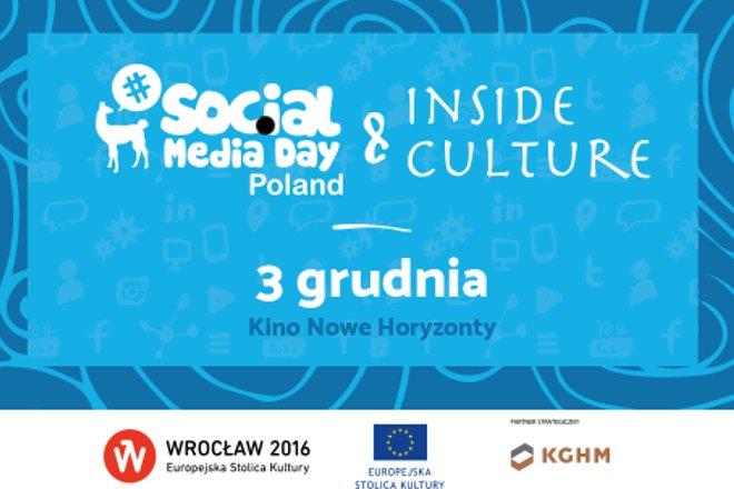 Social Media Day Poland: Inside Culture już w czwartek we Wrocławiu