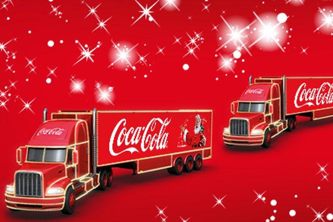 Konwój 4 świątecznych ciężarówek Coca-Cola zawita do Wrocławia