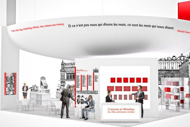 Targi Salon du livre 2015 w Paryżu