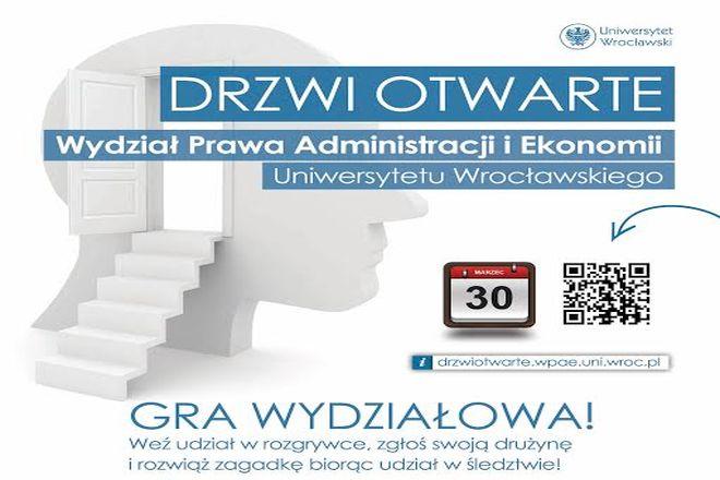 Drzwi otwarte Wydziału Prawa, Administracji i Ekonomii na Uniwersytecie Wrocławskim