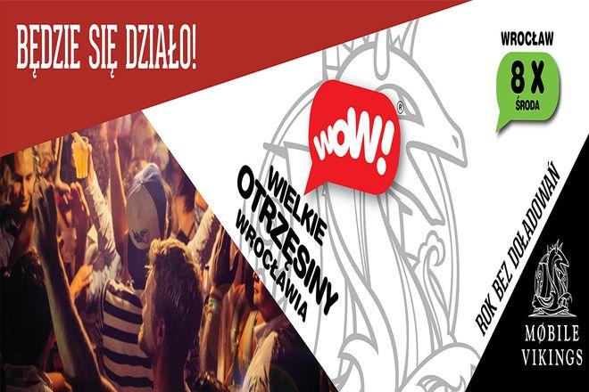 To będzie największy festiwal klubowy We Wrocławiu. Wielkie Otrzęsiny powracaj na jedną noc