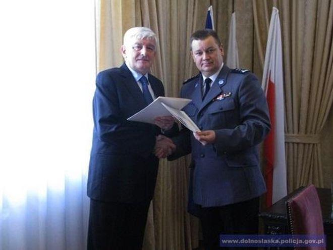 Andrzej Gospodarowicz (z lewej) i Wojciech Ołdyński