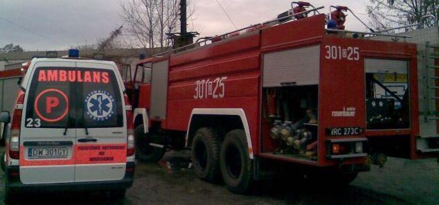 Na miejscu wypadku pojawiły się wszystkie służby ratunkowe