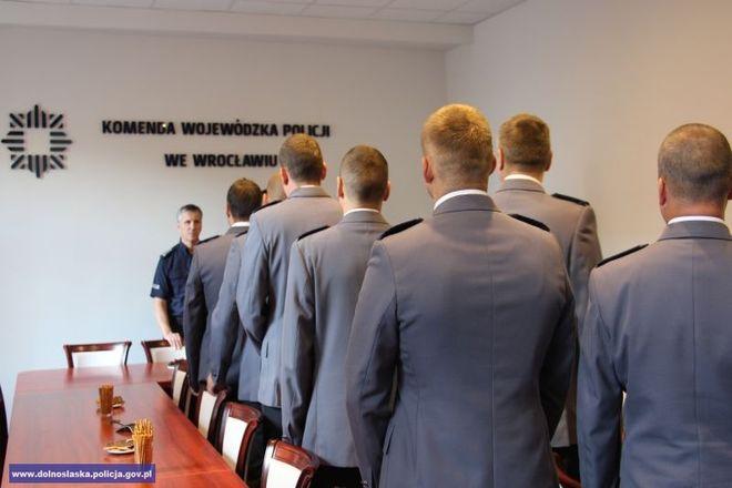 Nagrodzeni policjanci
