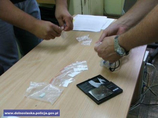 Wrocławscy policjanci przechwycili znaczne ilości narkotyków