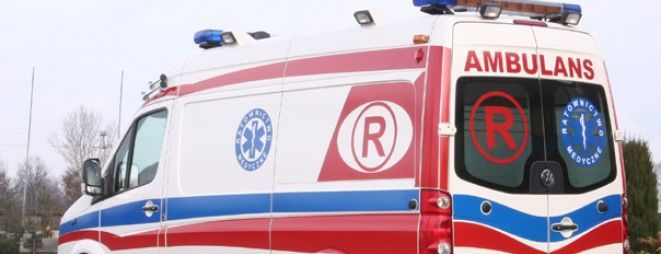 Ranny mężczyzna został hospitalizowany