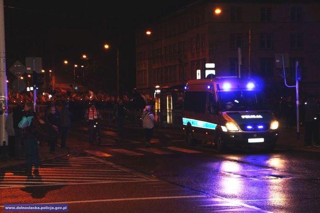 Policjanci byli w newralgicznych miejsach