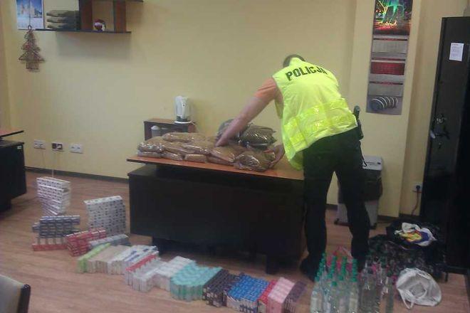 To kolejny przypadek nielegalnego handlu tytoniem i papierosami rozpracowany przez naszą policję