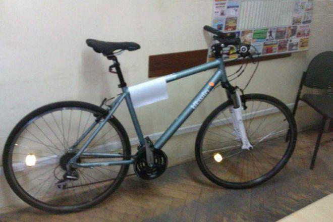 Kilka dni temu policja złapała innego złodzieja rowerów