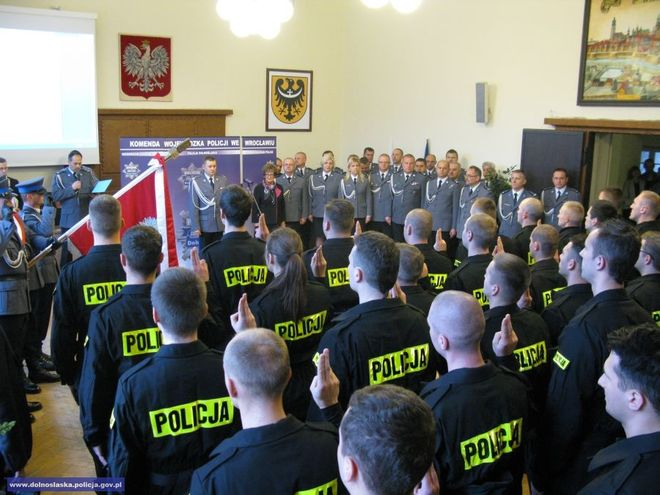 Od początku 2014 roku garnizon dolnośląski zasiliło łącznie 240 funkcjonariuszy