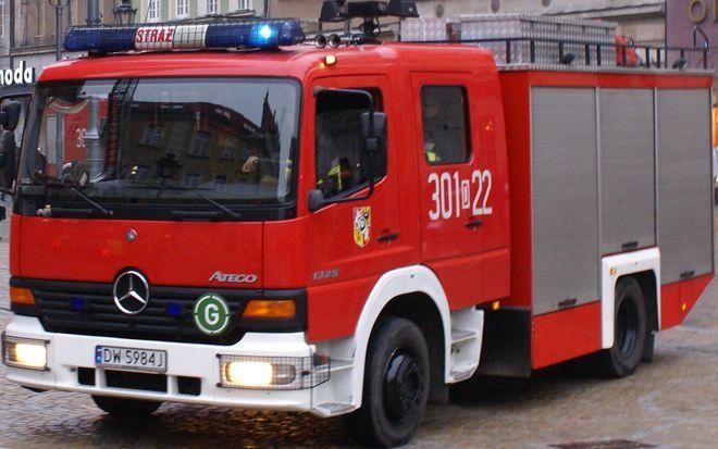 Na szczęście strażacy szybko poradzili sobie z ogniem