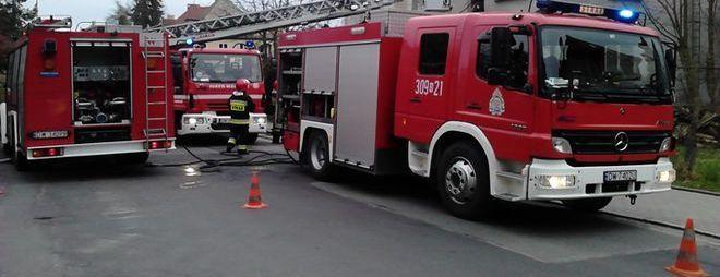 Na miejscu szybko pojawiła się straż pożarna oraz pozostałe służby