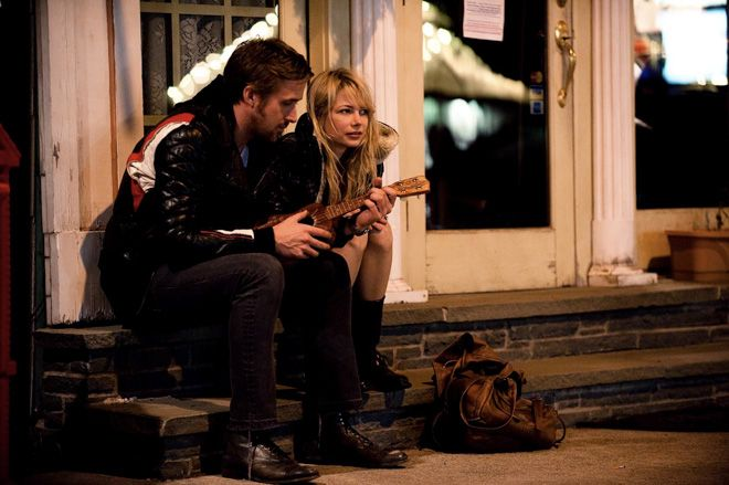 Kadr z filmu ''Blue Valentine''.