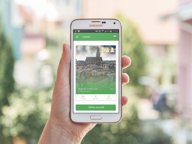 Footsteps to interaktywna aplikacja mobilna personalizująca zwiedzanie