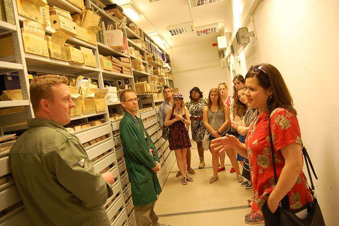 Zwiedzanie archiwum IPN