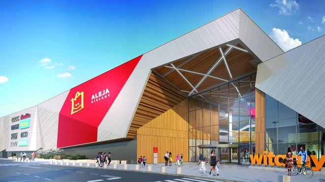 W listopadzie Park Handlowy Bielany otworzy nową część obiektu i zmieni nazwę na Aleja Bielany