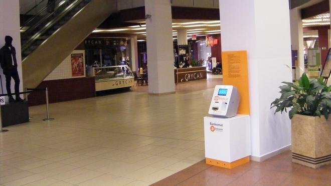 Pierwszy w naszym mieście bankomat Bitcoin stanął w Arkadach Wrocławskich