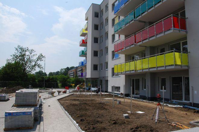 Budowa osiedla Tęczowy Raj