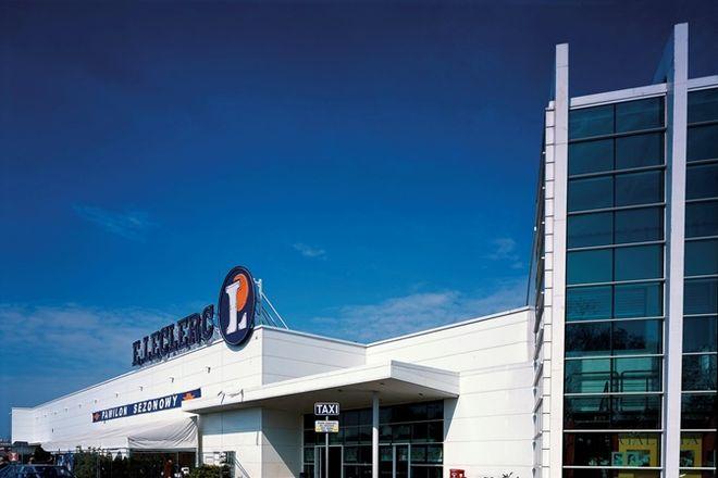 Ta sama spółka wybudowała we Wrocławiu hipermarket Leclerc