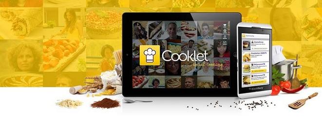 Cooklet został wyróżniony przez Samsunga za aplikację na tablety