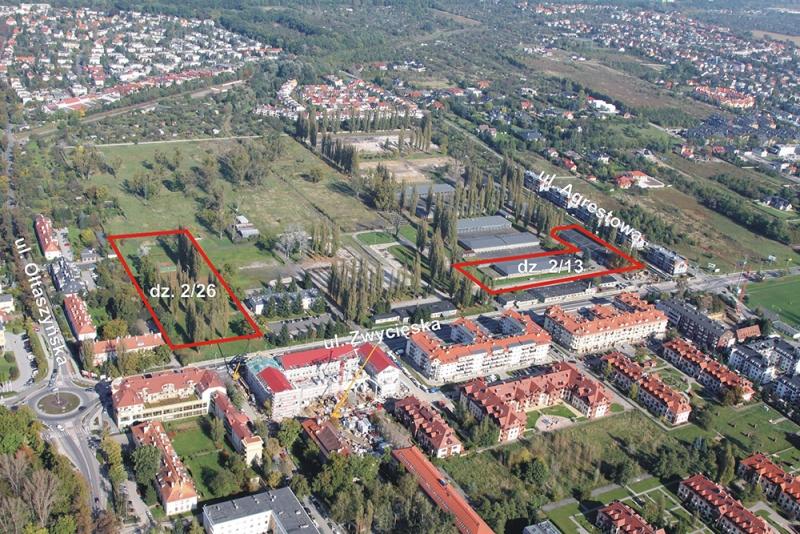 Wrocławski oddział Agencji Mienia Wojskowego sprzedał tereny po dawnym kompleksie magazynowym przy ul. Zwycięskiej