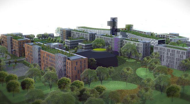 Placówka biobanku powstanie w przyszłości w rozbudowanym Wrocławskim Centrum Badawczym na Praczach Odrzańskich