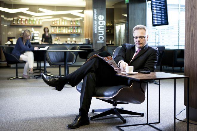 Executive Lounge w lotniskowym terminalu