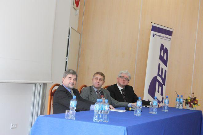 Od lewej: Zdzisław Olejczyk, Andrzej Łobodziński, Zbigniew Dynak.