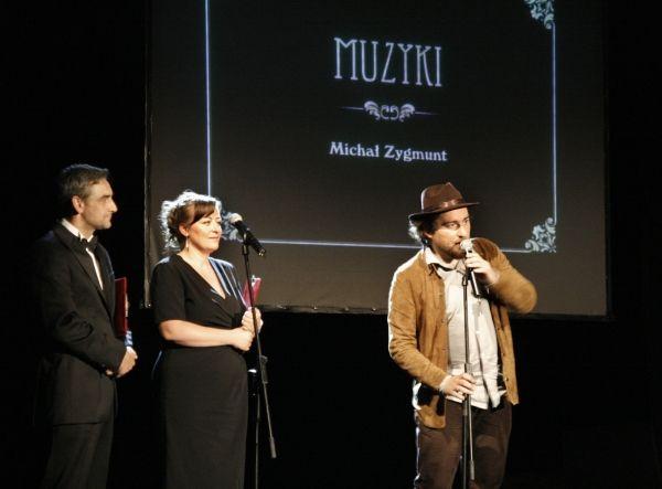 Od lewej: Robert Gonera, Ewa Skowrońska i Michał Zygmunt.