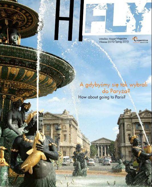 Okładka pierwszego numeru magazynu Hi Fly.